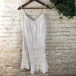 Laddi Boho Lace Maxi Skirt